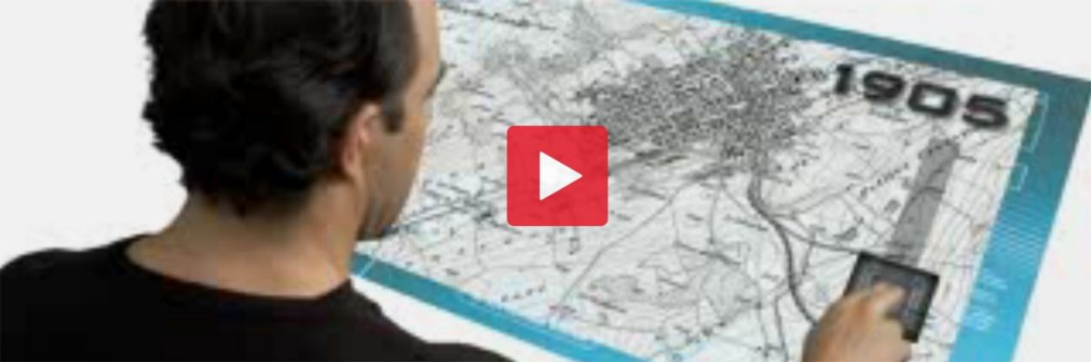 Video clips depicting various surveying activities, with a special focus on the cadastral survey.
