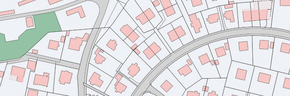 With Web Map Services, cadastral surveying maps and plans can be used via the Internet.