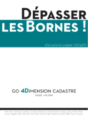 Discussion paper 2014/1: «Dimension Cadastre – Dépasser les bornes!»